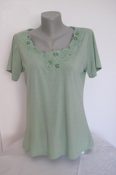Нова блузка в зелен цвят avliga_MANEKEN_0081.jpg Big