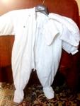 """Космонавт/Ескимос """"Marks&Spenser"""",  12-18 м. снежно бяла памучна материя Kolino_Photo6265.jpg"""