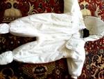 """Космонавт/Ескимос """"Marks&Spenser"""",  12-18 м. снежно бяла памучна материя Kolino_Photo6266.jpg"""