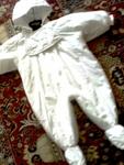 """Космонавт/Ескимос """"Marks&Spenser"""",  12-18 м. снежно бяла памучна материя Kolino_Photo6267.jpg"""