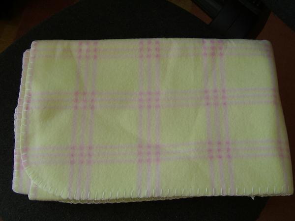 4 лв: ново поларено одеялце 92х75 см, момиче piskuni_P7210577.JPG Big