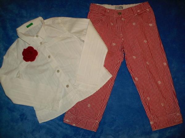 Ризка Бенетон със панталонки KIDS-UP ! 116/122см. lusy12345_IMG_0976.JPG Big