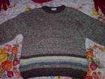 син и кафяв пуловер за 10 лв ABCD00121.JPG