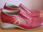 Червени обувки естествена кожа №37 DSC01401.JPG