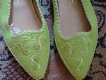 Чисто нови удобни зеленакави обувки №38. toni69_DSC05535_Custom_.JPG
