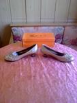 Нови златисти обувки 41  номер 26см.стелка valenta_16632.jpg
