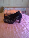 Нови кафяви обувки 39  номер 26см.стелка valenta_16638.jpg
