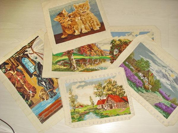 Гоблени - Златна есен, Перуники, Пролет, Коне на водопой и Котешко трио ddkk_DSC02047.jpg Big