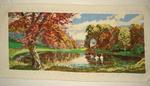 Гоблени - Златна есен, Перуники, Пролет, Коне на водопой и Котешко трио ddkk_DSC02045.jpg