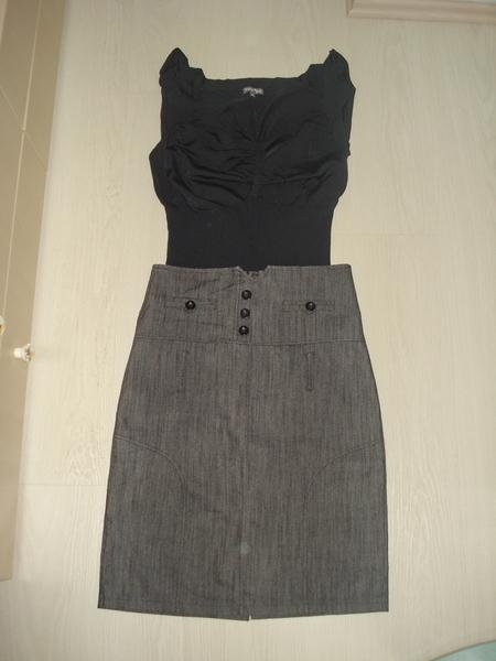 Лот от чужбина - пола с висока талия и тънко пуловерче ddkk_DSC03650.JPG Big