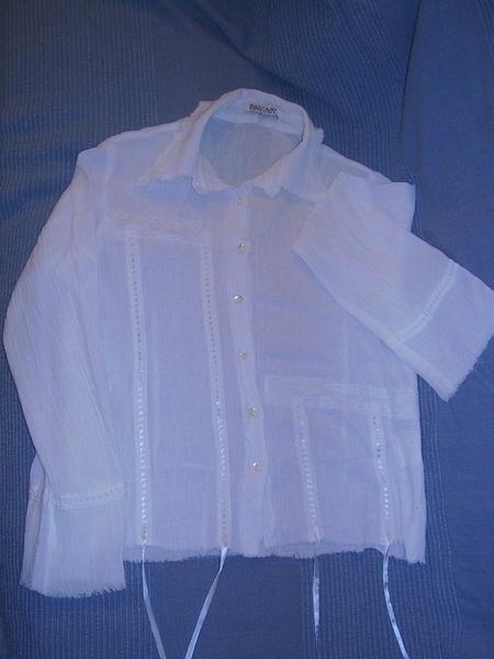 4лв: бяла асиметрична кенарена риза М, отлична piskuni_P81804166.JPG Big