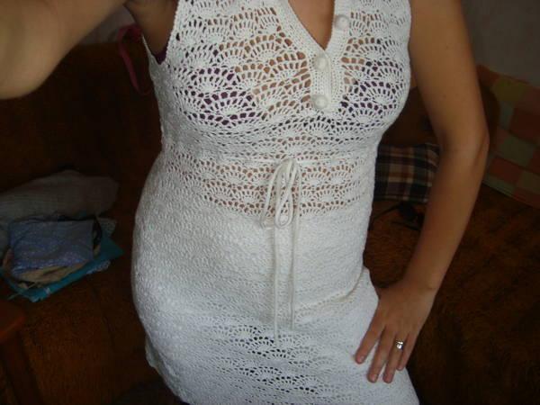 Уникална плетена туника рокля с
