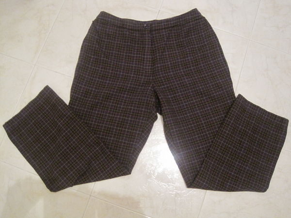 Панталон в тъмнолилаво каре avliga_IMG_49891.JPG Big